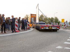 Opening vernieuwde rotonde Balk door Johan Palsma